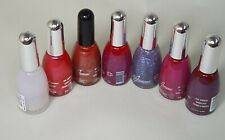 NEW La Femme Set Of 7 Nail Polish VANISH PINK/PURPLE Perfect Summer Multi Colour