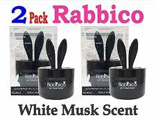 2 Pack-RABBICO Rabbit -Car, Home Air Freshener . Diax Japan - White Musk Scent