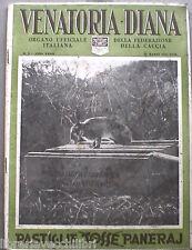 DIANA rivista di Caccia Venatoria Eugenio Niccolini di Camugliano Marmotta di e