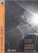 CD ♫ Compact disc + Libro **LE VOCI DEL TEMPO ♦ VASCO ROSSI** Nuovo Sigillato