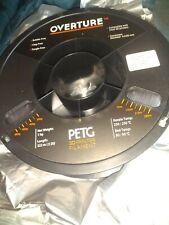 Overture Petg 3D Printer Filament 1.75 mm Sealed Transparent 1kg 322 m