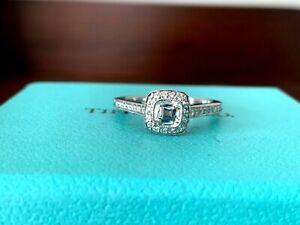 Tiffany & Co LEGACY Platinum and Diamond Engagement Ring .52 CT H VVS1 $7k
