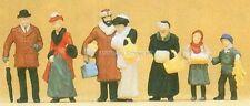H0 Preiser 12195 Sobre el Mercado de Navidad. figuras. EMB.ORIG