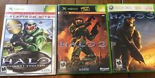 Halo Game Lot 1,2,3 Xbox ~ Complete