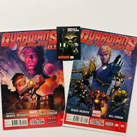 Guardians Of The Galaxy 1 0.1 NM Bendis McNiven Marvel Comics Groot Drax Gamora