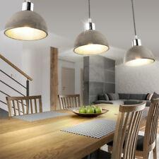 Decken Industrie-Lampe Retro Vintage Design Hänge Shabby Holz Pendelleuchte Loft