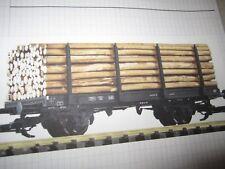 playmobil LGB trein /train wagon piko boomstam vervoer