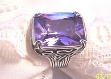 Silpada  Lavender Fields  Solid Sterling Silver 925 Size  7 EXCELLENT!!
