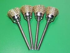 4pcs 12MM BRASS WIRE CUP BRUSHES