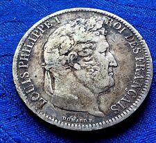MONNAIE ANCIENNE 5F ECU ARGENT DE LOUIS PHILIPPE I ROI DE FRANCE 1831 T NANTES