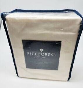 Fieldcrest Full 700TC Supima Classic Hemstitch Sheet Set - shell -