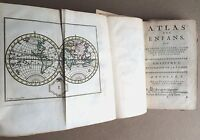 Antique Atlas Maps 1760 1st Ed French Children World Maps Geography School Carte