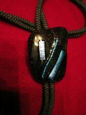 Glass Slag Bolo Tie
