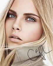 CARA DELEVINGNE #1 10x8 PRE PRINTED (SIGNED) LAB QUALITY PHOTO - FREE DELIVERY
