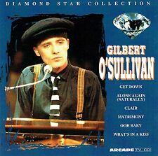 (CD) Gilbert O'Sullivan - Diamond Star Collection - Get Down, Ooh Baby, Clair