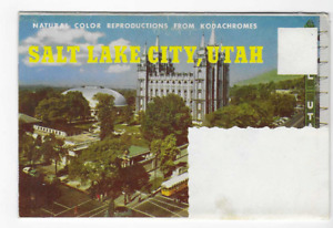 POSTCARD FOLDER-SALT LAKE CITY, UTAH