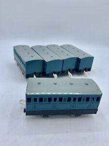 Rusty's Narrow Gauge Blue Train Coach Thomas & Friends TrackMaster Lot Of 5!