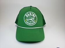 Vintage Dakine Trucker Style Hat Green Fishing Cap Catch And Release Perfect