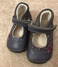 Baby Girl Clarks Leather First Shoes 3.5F