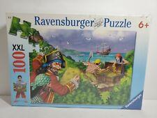 Ravensburger Jigsaw Puzzle PIRATES TREASURE XXL 100 Piece # 109777 New Sealed
