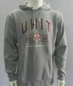NWT UNIT Rider Mens Fleece Launch Pullover Hoodie Jumper MX Sweatshirt SZ M-XXL