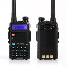 ESYNiC baofeng Walkie Talkie UV-5R VHF/UHF Dual Band LED FM Ham Two Way Radio Ea