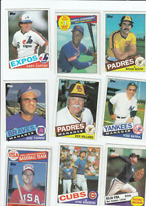 1985 Topps Base Set, 790/792 Card Lot, inc Clemens Graded Rookie Card