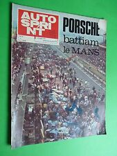 AUTOSPRINT 1970/24 Porsche Le Mans Al Unser Andretti M 70C March 707 Can-Am