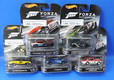 Mattel Hot Wheels  Froza Motorsport  Premium Cars 1-5 Komplett