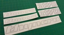 VW T3 Thyncro 2WD Decals Stickers Graphics Volkswagen Vanagon Restoration Syncro