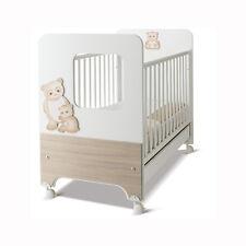 Azur Lettino Oblò Dolce sogno Panda Bianco-Larice scuro 60000250