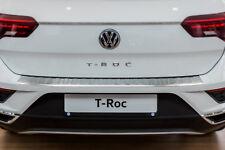 Edelstahl Ladekantenschutz mit Abkantung für VW T-Roc ab Bj. 2017-