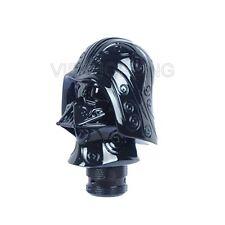 Black Star Wars Darth Vader Head Stick Shifter Lever Shift Knob Gear Customized