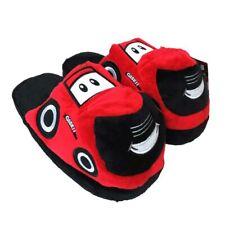 Large Children's Case IH Big Red Cozy Plush Slippers CIH14801-L-XL