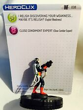 DC HEROCLIX FIGURINE WORLD'S FINEST : #038 condiment king