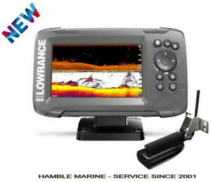 "Lowrance HOOK2-5x GPS Fish Finder 5"" with Splitshot HDI Transducer 000-14512-001"