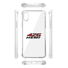 HEMI 462 HP iPhone X Clear TPU Shockproof Cell Phone Case Challenger C