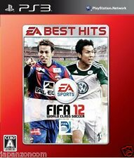 Used PS3 FIFA 12 EA Best Hits SONY PLAYSTATION 3 JAPAN JAPANESE IMPORT