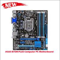 ASUS B75M-PLUS Computer PC Motherboard Intel B75 LGA USB3.0 MicroATX 1155 best
