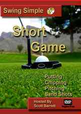 PUTTING - CHIPPING - SAND SHOTS - SWING SIMPLE SHORT GAME GOLF INSTRUCTION DVD