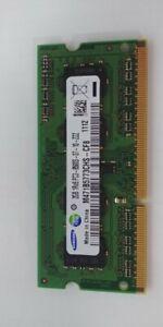 2GB Laptop RAM Samsung PC3-8500S 1Rx8 (8 chip) DDR3-1066