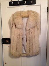 Blue Fox Fur Gillet (Real Vintage Fur)
