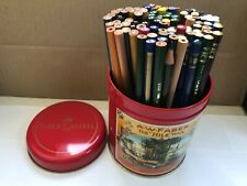99 VINTAGE COPYING PENCILS FROM GERMANY - VARIETY OF BRANDS - UNUSED + FABER TIN