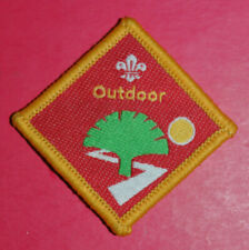 Cub Scouts Outdoor Challenge cloth badge