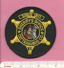 Cattaraugus County New York State of NY Sheriff Office Police Patch - Circle