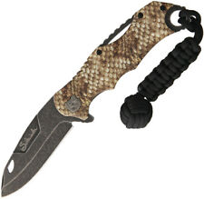 "Rough Rider Sidewinder Linerlock A/O Knife RR1538 5"" closed. 3 1/2"" black stonew"