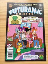 FUTURAMA # 5 NM BONGO COMICS NEWSSTAND EDITION SIMPSONS SPOOF