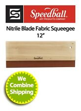 "Speedball 12"" Screen Printing Textile Squeegee"