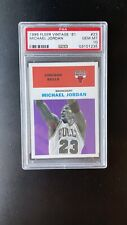 1998 Fleer Tradition Vintage '61 Michael Jordan #23 PSA 10 GEM MINT