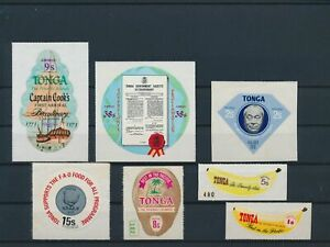 LN23228 Tonga self-adhesives fine lot MNH